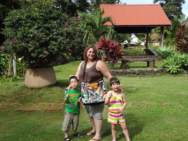 Rodneia and her kids