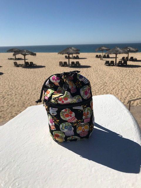 Zoe's Bag Boutique Kipster knitting bag in Cabo San Lucas
