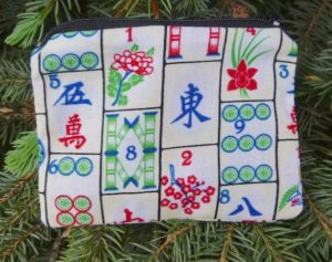 Mahjong coin purse