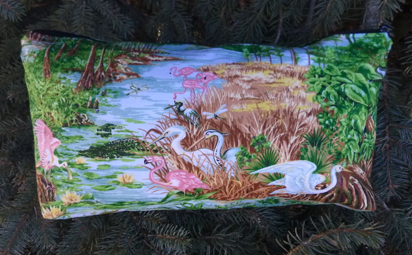 Everglades animals bag for mahjong tiles, cosmetics, knitting supplies, art supples