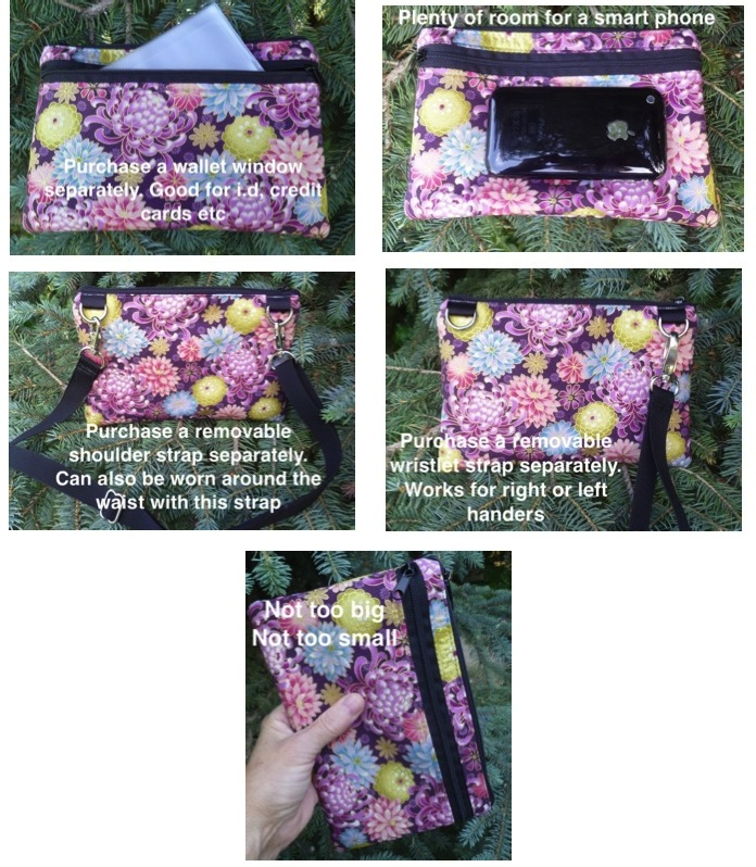 Mini wallet iPhone purse boutique style
