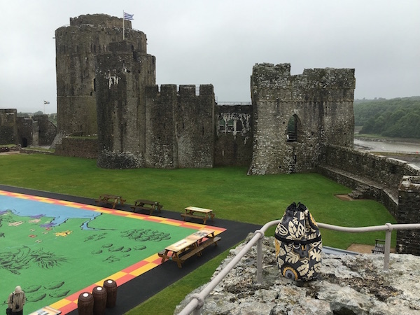 Lea's Kipster Penbroke Castle in Wales