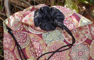 Drawstring shoe or lingerie bag