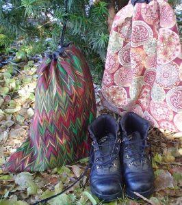Zoe's Bag Boutique shoe bag liingerie bag flat knitting bag