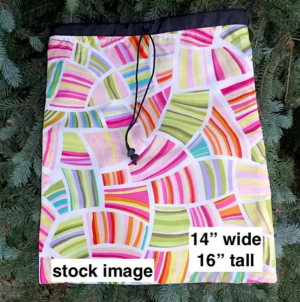 unique shoe bag lingerie bag flat travel bag for knitting