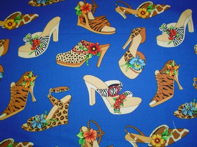 Animal print shoes fabric for custom bags Zoe's Bag Boutique