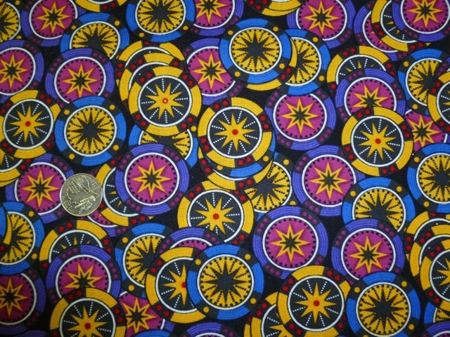 Casino Chips fabric for custom bags Zoe's Bag Boutique