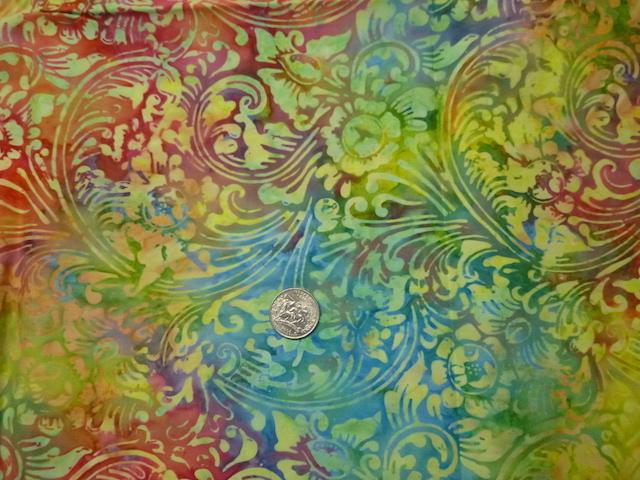 Batik fabric for custom bags Zoe's Bag Boutique