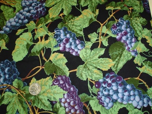 Grape Vines fabric for custom bags Zoe's Bag Boutique