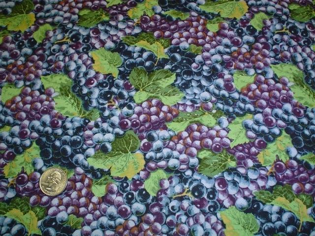 Grapes fabric for custom bags Zoe's Bag Boutique