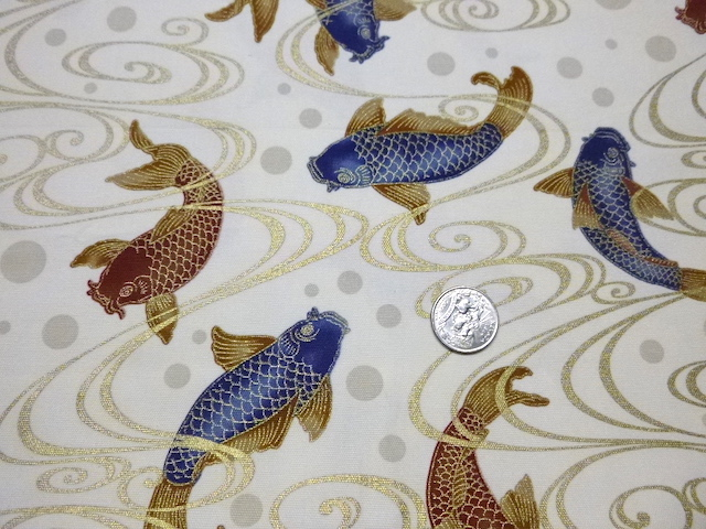 fabric for custom made soft sided mahjong tote and tile set at Zoe's Bag Boutique