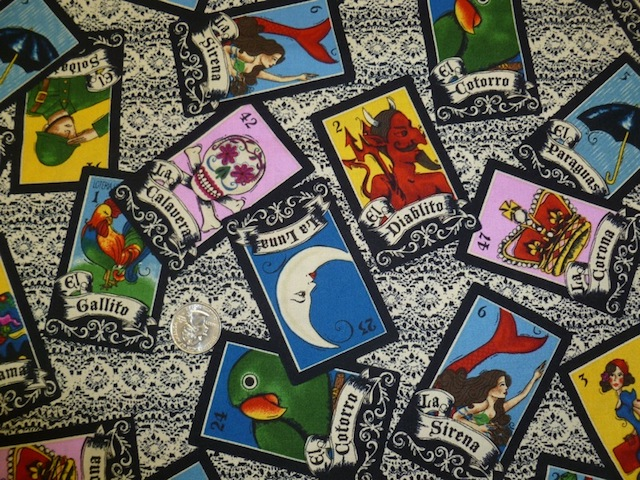 Games fabric for custom bags at Zoe's Bag Boutique