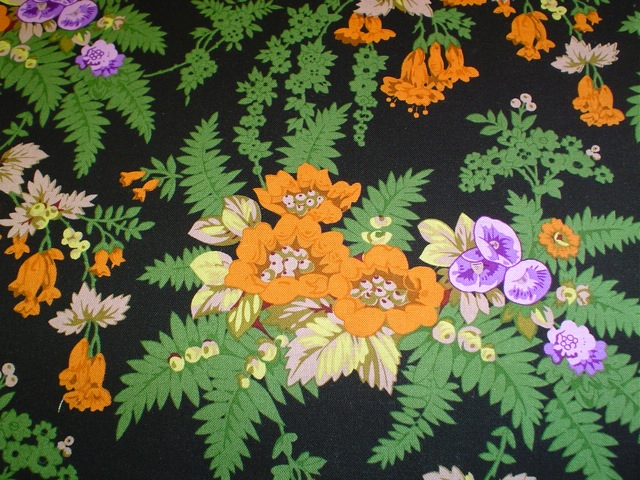 Floral fabric for custom bags Zoe's Bag Boutique