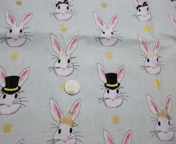 Rabbit fabric for bags