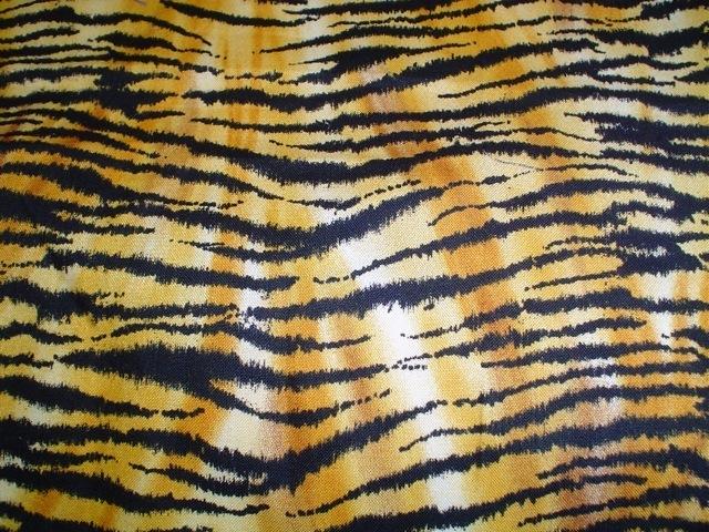 Tiger fabric for custom bags Zoe's Bag Boutique