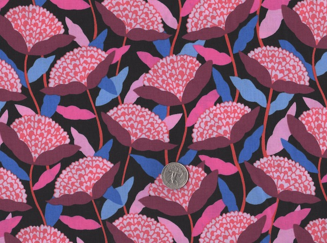 Floral Airflow fabric for custom bags at Zoe's Bag Boutique