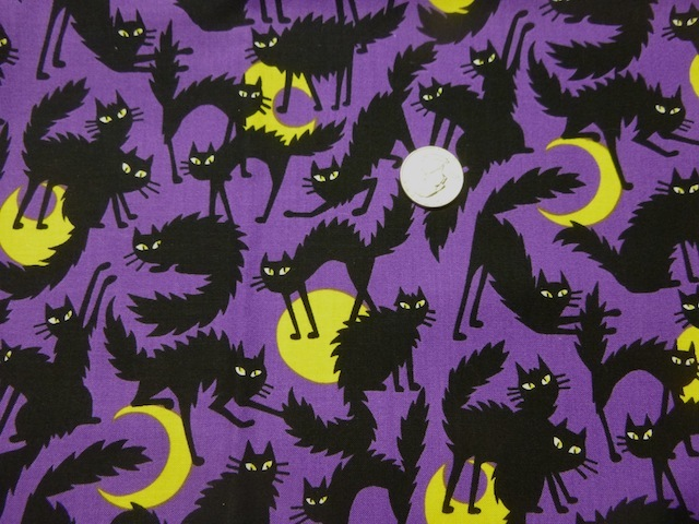 Boo Kitty fabric for custom bags Zoe's Bag Boutique