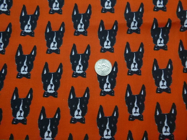 Boston Terrier fabric for custom bags Zoe's Bag Boutique