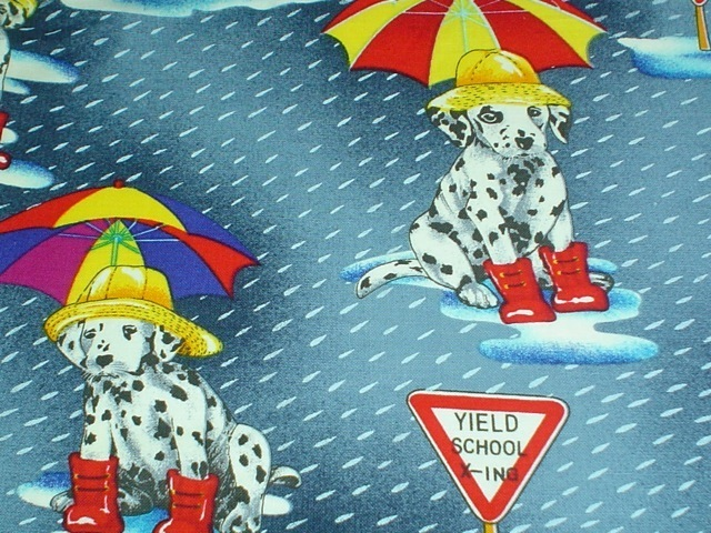 Dalmatian puppies fabric for custom bags Zoe's Bag Boutique