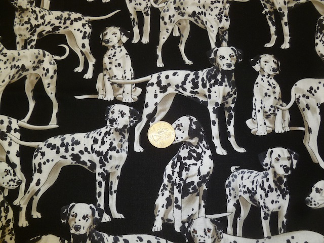 Dalmatians fabric for custom bags Zoe's Bag Boutique