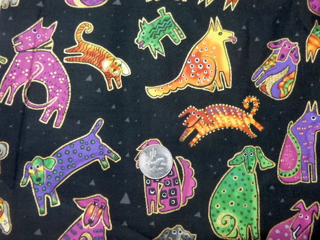 Dogs and Doggies fabric for custom bags Zoe's Bag Boutique