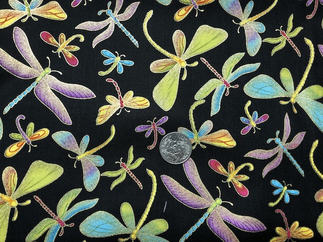 Dragonflies fabric for custom bags Zoe's Bag Boutique