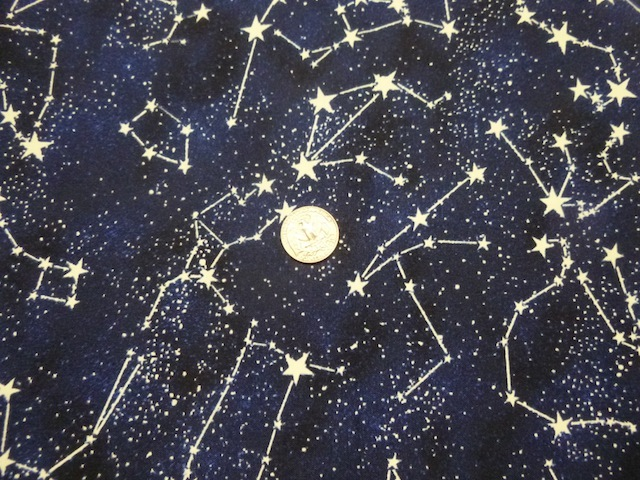 Glow in the dark constellations fabric for custom bags Zoe's Bag Boutique