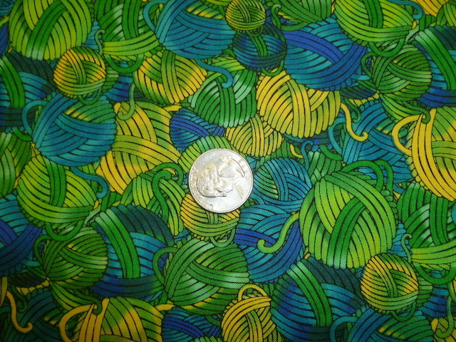Green yarn fabric for custom knitting crochet bags by Zoe's Bag Boutique