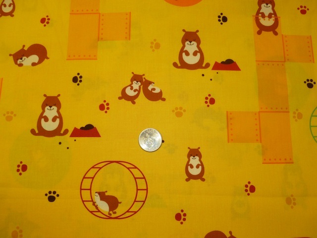 Hamster fabric for custom bags Zoe's Bag Boutique