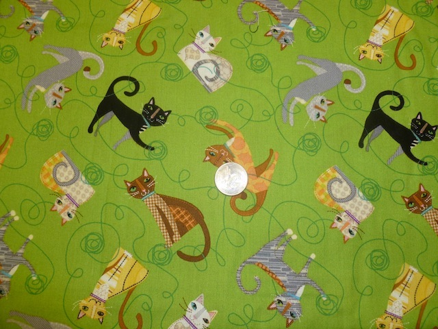 Cats fabric for custom bags Zoe's Bag Boutique