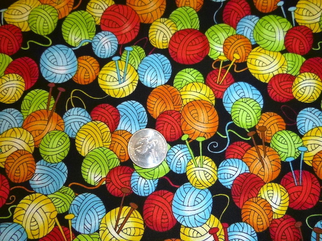 Colorful yarn fabric for custom knitting crochet bags by Zoe's Bag Boutique