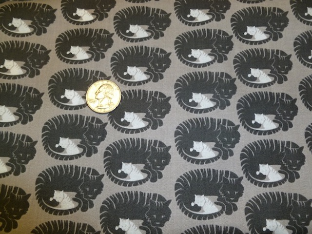 Momma Tabby cat fabric for custom bags Zoe's Bag Boutique