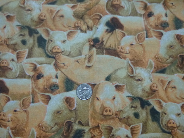 Farm animal fabrics for custom bags at Zoe's Bag Boutique