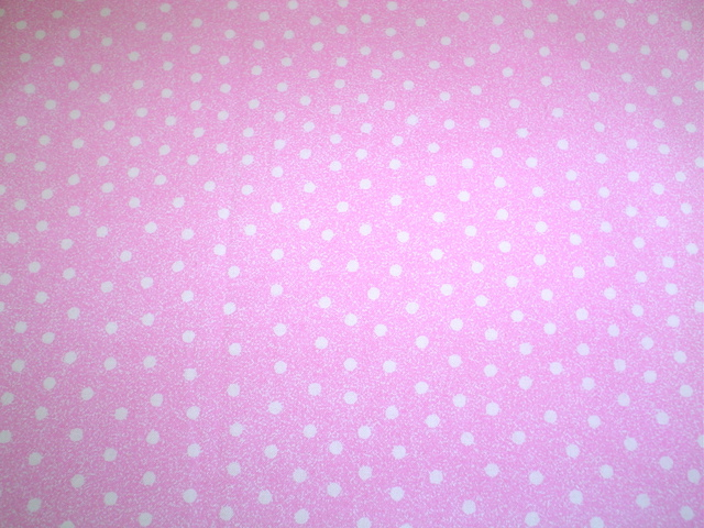 Pink and white polka dots fabric for custom bags Zoe's Bag Boutique