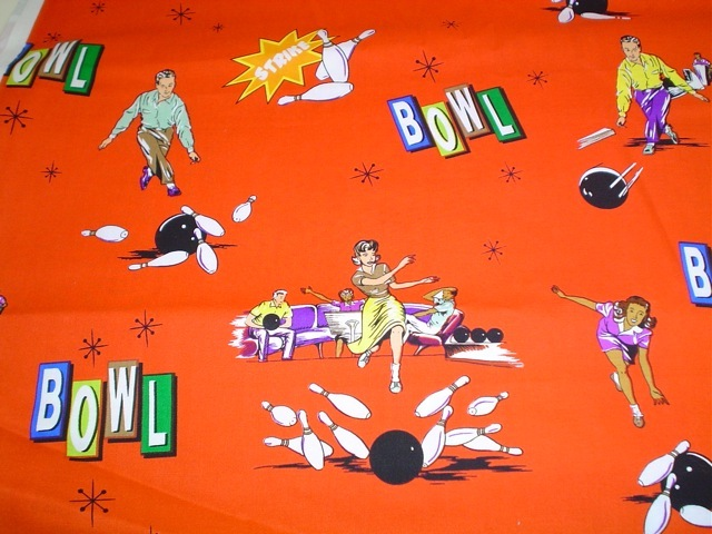 50's bowl fabric for custom bags Zoe's Bag Boutique