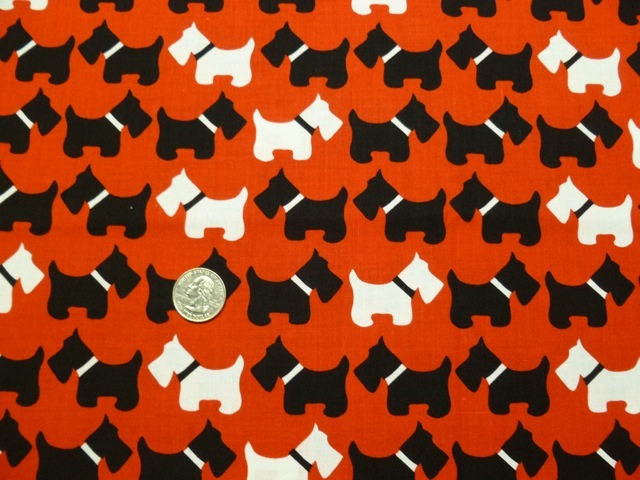 Scottie fabric for custom bags Zoe's Bag Boutique