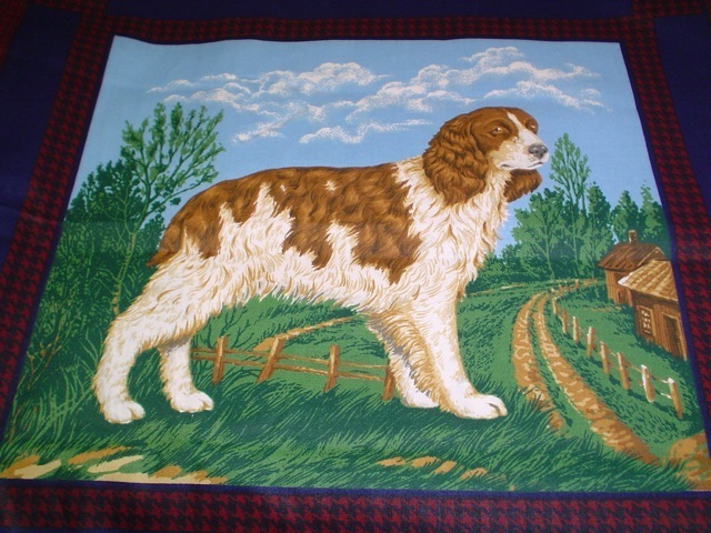Spinger Spaniel fabric for custom bags Zoe's Bag Boutique