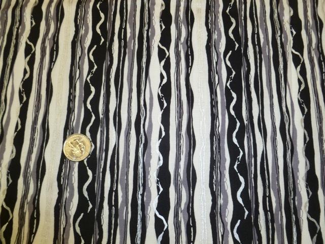 Black white stripe fabric for custom bags Zoe's Bag Boutique
