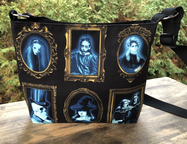 Spooky portrait gallery Halloween purse glow in the dark